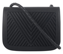 Kalbsleder Crossbody-Bag  // Coachella V Black