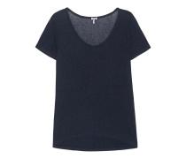 Jersey-Kurzarm-Top  // Drapey Lux S/S Indigo