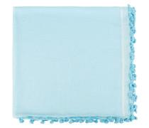 Baumwoll-Seiden-Tuch  // Pareo Light Blue