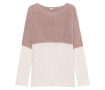Bubble Knit Mauve Cream