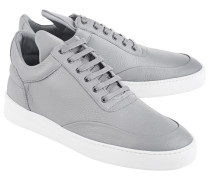 Leder-Sneakers  // Low Cement Grey