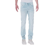 Slim-Fit-Kordsamt-Jeans  // Rocco No Flap Morning Blue