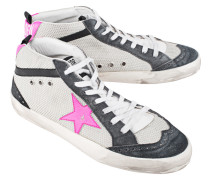 Sneakers aus Mesh  // Mid Star Ice Net Pink Flou Star