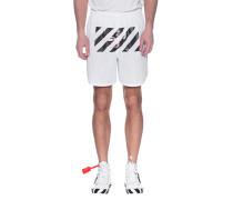 Bedruckte Mesh-Shorts