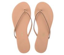 Glattleder-Flip Flops