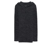 Woll-Mix-Strickcardigan  // Drive Anthracite