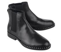Chelsea Boots aus Leder  // Wino Black