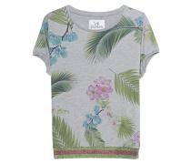Kurzarm-Pulli mit Tropic-Print  // Yoshi The Sweater Tropical