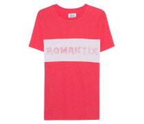 Leinen-Mix T-Shirt