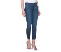 Cleane Skinny-Jeans  // Halle Broken Twill Blue Denim