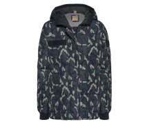 Gemusterte Daunen-Jacke  // Down Camouflage Night Shade