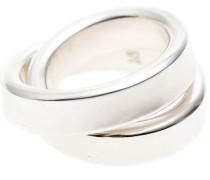 Sterling-Silber Ring  // Cross Ring