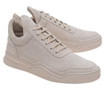 Sneakers aus Nubukleder  // Low Top Ghost Tone Beige