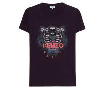 T-Shirt mit Tiger-Print  // Tiger Classic Prune