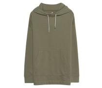 Oversize-Hoodie aus Baumwoll-Mix  // Basic Oversize Khaki