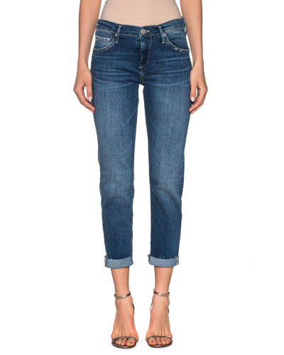Low-Rise Relaxed-Skinny Jeans