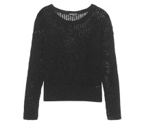 Holes Knit Black