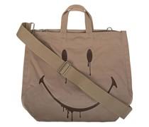Tasche mit Smiley-Print