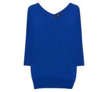 Feinstrickpullover  // V Fine Knit Royal Blue