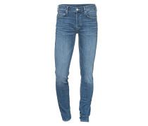 Slim-Fit Jeans im Used-Look