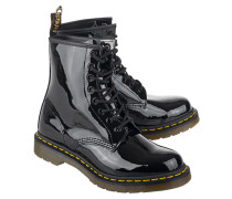 Lackleder Stiefel  // Patent Lamper 8 Eye Black