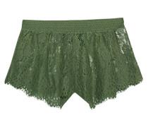 Spitzen-Shorts  // B Ball Lace Sleepwear Olive Branch