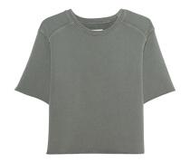 Sweatshirt mit halbem Arm  // The Half Sleeve Sweatshirt Dusty Olive