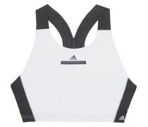 Pull-on Sport-BH  // The High Intensity Bra White/Black