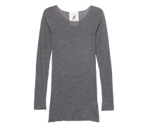 Pury Long Crew Neck Grey Melange