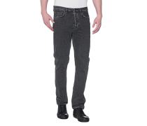 Straight-Leg Jeans im Vintage-Look  // Van Black