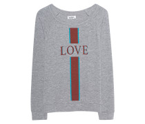 Sweatshirt aus Baumwoll-Mix  // Brenna Heather Grey