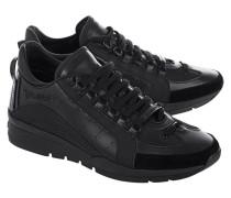 Leder-Sneakers  // 551 Nero