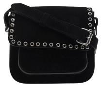 Veloursleder-Handtasche  // Marfa Day Black