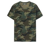 Gemustertes Baumwoll-T-Shirt  // Shotgun Tee Camo