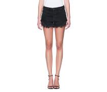 Lockere Shorts mit Schnürung  // Short Lace Cut Black
