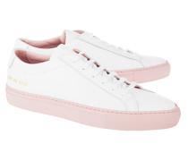 Leder-Sneaker  // Achilles Low White