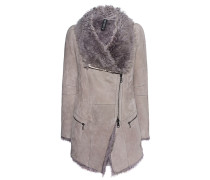 Lammfell-jacke  // Short Shearling Light Grey