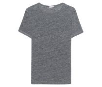 Leinen T-Shirt  // Marlon Anthrazit Melange