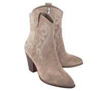 Cowboy-Boots aus Veloursleder  // Joss Cocco