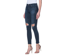 Destroyed Skinny-Jeans  // The Legging Ankle Nightingale