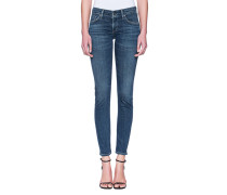 Cleane Skinny-Jeans  // Racer Low Rise Skinny Blue