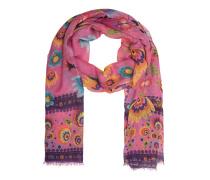 Kaschmir-Seiden-Schal  // Folk Pink