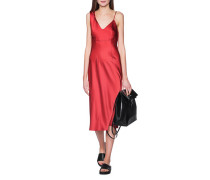 Slip-Kleid in Midi-Länge