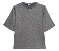 Schimmerndes Kurzarm-Shirt