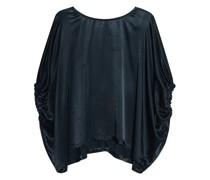 Oversize Bluse mit Fledermausärmeln