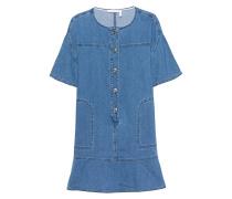 Minikleid aus Denim  // Robe Washed Indigo