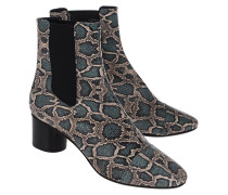 Stiefelette in Python-Optik