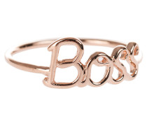 Boss Ring in Roségold