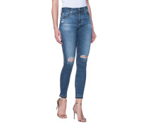 Destroyed Skinny-Jeans  // The Farrah Skinny Ankle 13 Years