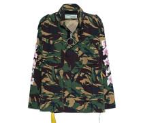 Jacke mit Rückenprint  // Cherry Flower Camouflage